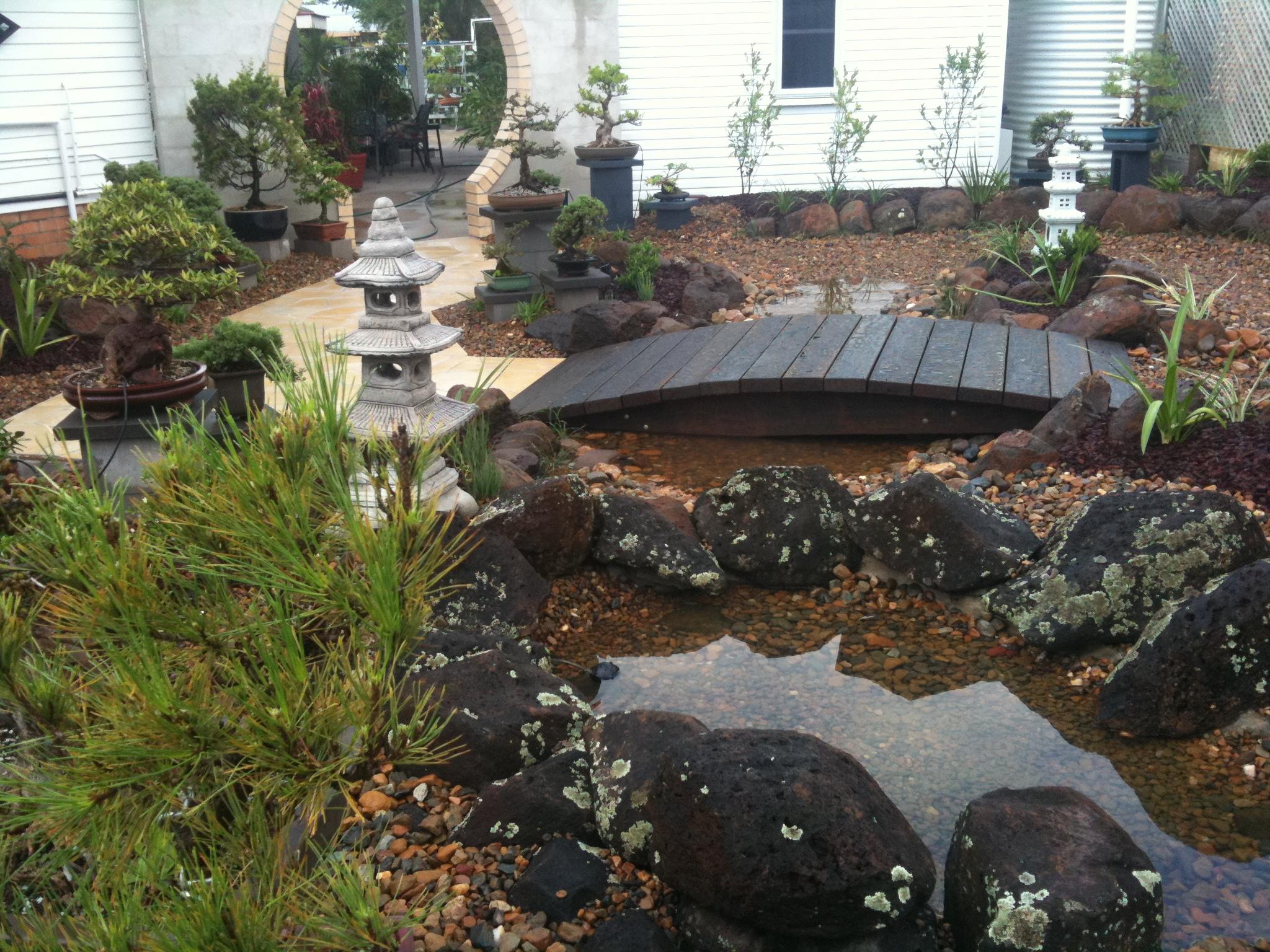 Japanese gardens in bundaberg landscaping lifestyle for Japanese garden pool