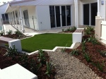 seaside courtyard-Bundaberg Landscaping 4