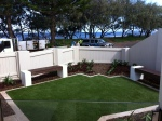 seaside courtyard-Bundaberg Landscaping 6